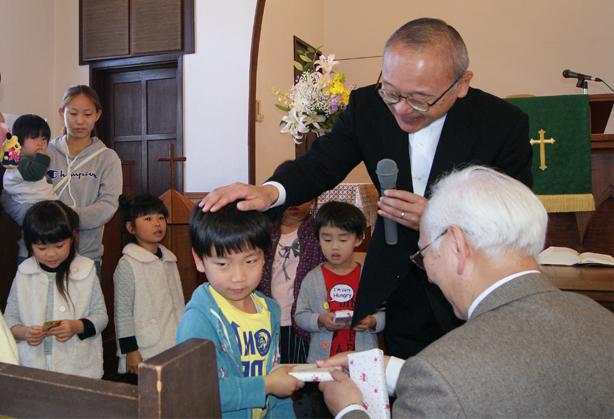 進級礼拝(4月)