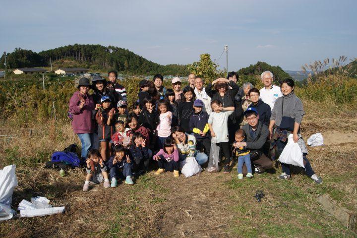 教会学校の遠足 芋ほり(11月)