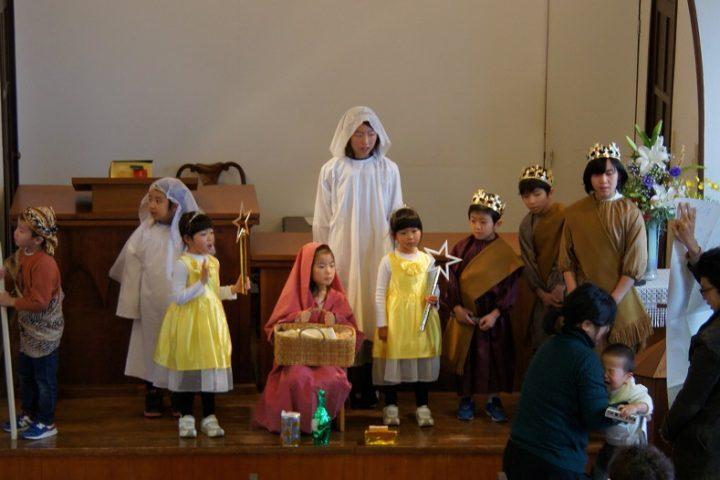 クリスマス礼拝(12月)